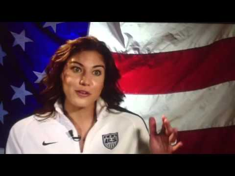 USWNT - Hope Solo discusses preparing for Rio Olympic Qualifying 2016 - Rare Interview