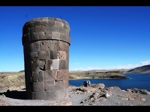 Stone tower, Titicaca