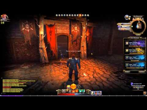 D&D Neverwinter Guardian Fighter Gameplay Commentary