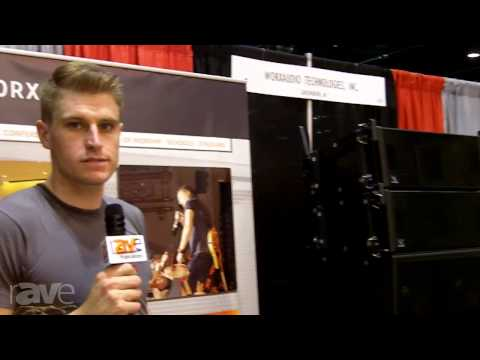 InfoComm 2013: Worx Audio Shows Its Speaker Products