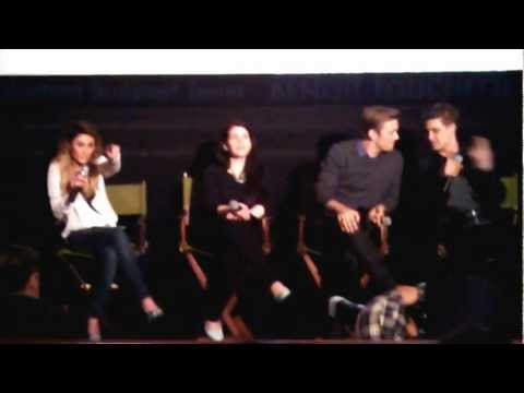Chicago screening of The Host Q&A with Stephenie Meyer, Max Iron & Jake Abel