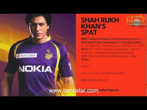 Bollywood Supports to Shah Rukh Khan - SRK Fight Audio
