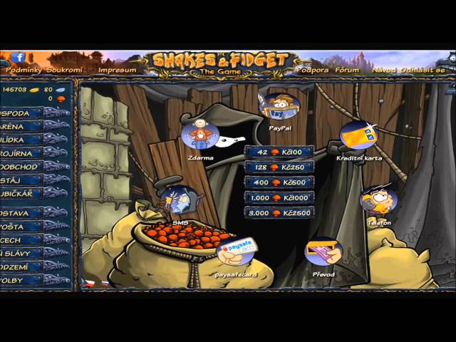 Sfgame Hacky/Cheaty Mushrooms/Gold/Exp