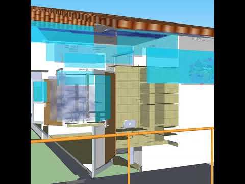 Modelo 3D de habitaciones acabadas