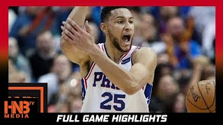 Ben Simmons (23 pts, 12 ast) Full Highlights vs GS Warriors / Week 5 / Warriors vs 76ers