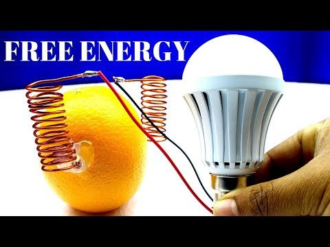 100% Free Energy 230V Light Bulb Without Battery - How To Make Free Energy 230v light bulb 100% Real thumbnail