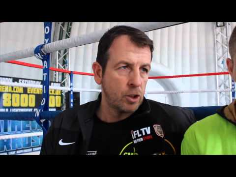 iFL TV CATCH UP WITH LIAM SMITH & JOE GALLAGHER AHEAD OF LIAMS SECOND FIGHT OF 2015 IN LIVERPOOL