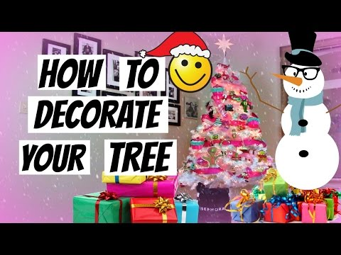 How I Decorated My Christmas Tree 2015
