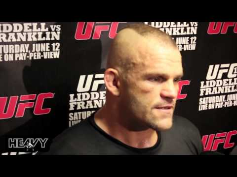 Chuck Liddell UFC 115 Open Workout Highlights Image 1