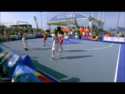 2015 3x3 U18 European Champs Qualifiers. Semi final. España - Dinamarca