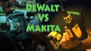 Tour of Atlas Machinery & DeWalt VS Makita Brushless Drywall Screw Gun.