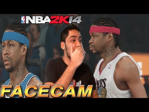 NBA 2k14 PS4 MyTEAM FACECAM - Allen Iverson Is NOT HUMAN! Craziest Performance EVER!
