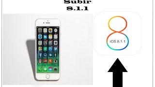 Subir Iphone 6 plus a ios 8.1.1 ( paso a paso )