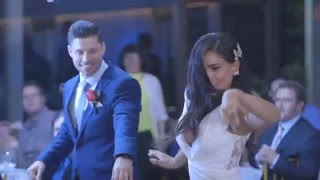 Download Lagu Wedding Dance And Flash Mob - Janette And Paul (Elvis and Michael Jackson) Gratis STAFABAND