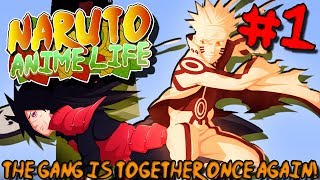 THE GANG IS TOGETHER ONCE AGAIN! | Naruto Anime Life (Minecraft Modpack) - Episode 1