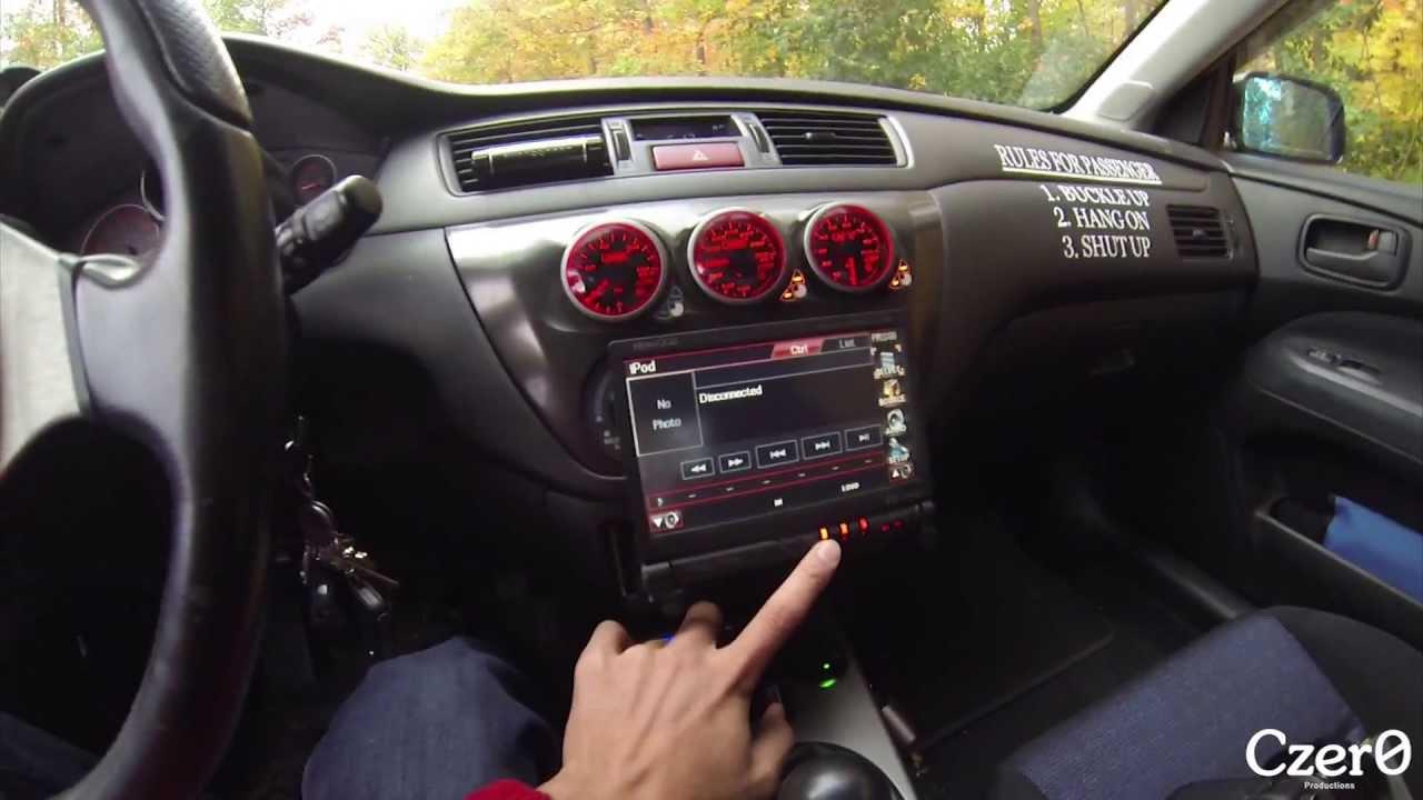 evo interior walk through gauges and gadgets youtube - Mitsubishi Evo 7 Interior