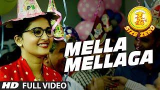 Mella Mellaga Full Video Song || Size Zero || Arya, Anushka Shetty, Sonal Chauhan || M.M Keeravaani