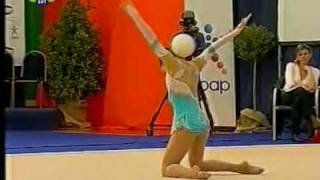 Monika Mincheva ball 2010 world cup Kalamata