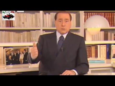 ESONERO MIHAJLOVIC - VIDEOMESSAGGIO BERLUSCONI