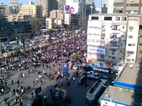 Protest in Egypt - Jan 25, 2011