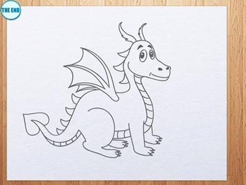 Art Hub For Kids Drawing A Dragon