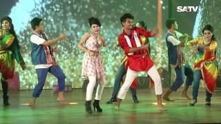 Eid Dance by Tonni & Alif on SATV   Eid Dance Program