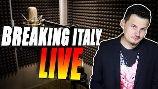 Breaking Italy LIVE Pre-Pasquale!