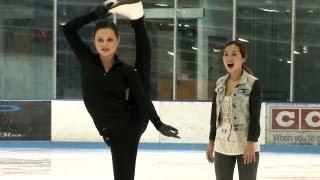 Ice Skating with Sasha Cohen