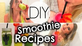 DIY Smoothie & Shot Recipes!