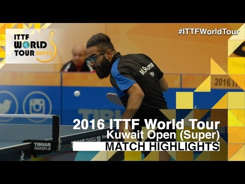 2016 Kuwait Open Highlights: Cedric Nuytinck vs Mohamed Shouman (Pre)