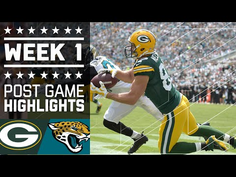 Packers Vs Jaguars Nfl Week 1 Game Highlights