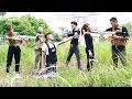 Superhero action S.W.A.T & Five Warriors Nerf guns Kidnapper Overman Rescue Boss Nerf war