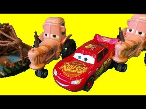 Тачки 3 Молния Маквин Тренировка Выхлопа Мультики про Машинки Cars 3 Lightning McQueen
