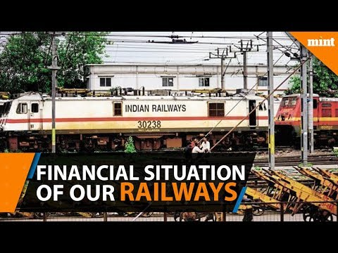 The financial situation of Indian Railways