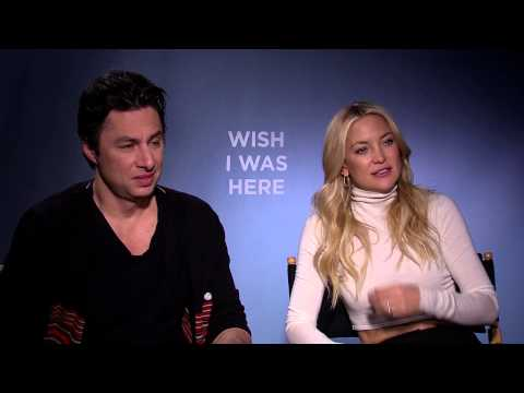 Zach Braff and Kate Hudson Interview for