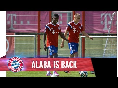 David Alaba is back