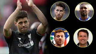 Players and ex-players react to Steven Gerrard