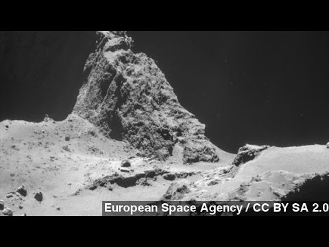 ESA Releases Images Of Philae's Kilometer-High 'Bounce'