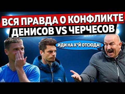 Скандал в сборной России перед ЧМ: Как Денисов разосрался с Черчесовым и почему его нет в сборной