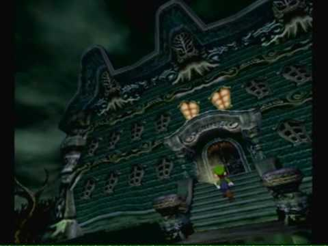 Luigis Mansion Gameplay