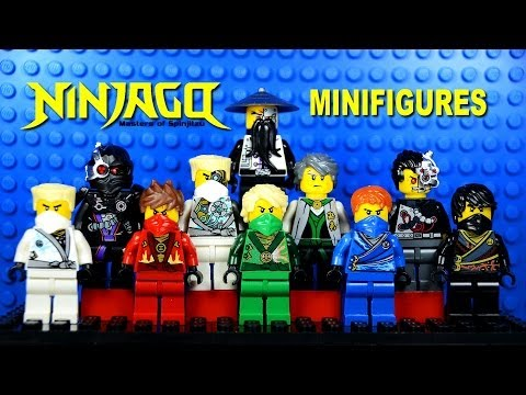 LEGO Ninjago Masters of Spinjitzu Rebooted KnockOff Minifigures Set 4 (Bootleg)