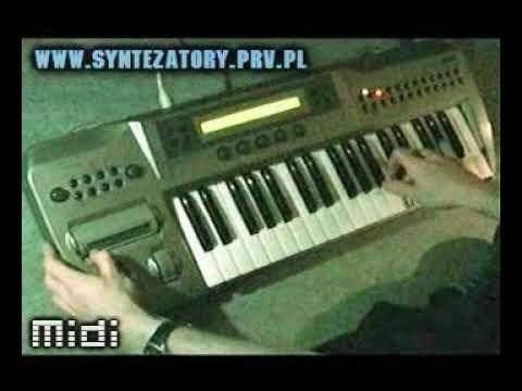 Korg Prophecy   demo by syntezatory.prv.pl