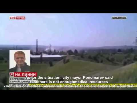 News from Slaviansk, Ukraine, June 8, 2014
