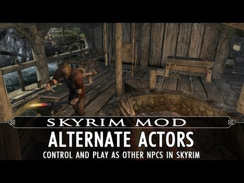 Skyrim Mod Feature: Alternate Actors