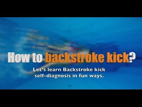 이현진 수영 / how to backstroke swimming / 배영발차기/ 배영배우기