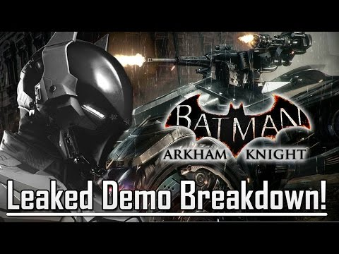 Batman Arkham Knight Gameplay Demo Breakdown!