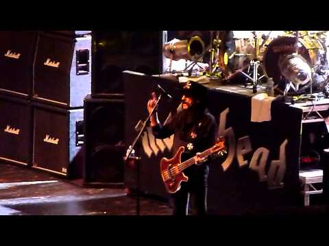 Motorhead - Going to Brazil / Killed by Death (Crocus City Hall, Moscow, Russia 25.07.2014)