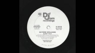 Alyson Williams - Sleep Talk (Long Version)