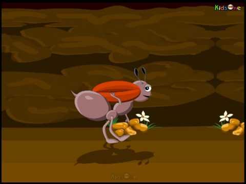 Ant  Animated Rhyme Telugu video