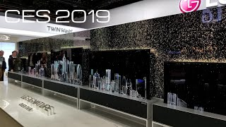 LG at CES 2019 HDMI 2.1 8K TVs New Monitors and Soundbars